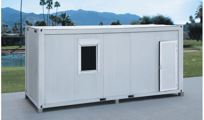 Sandwich Panel Container Housing