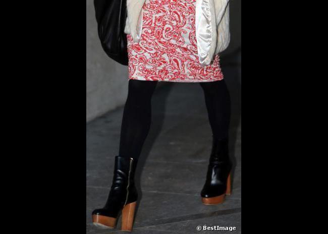 Les bottines à plateaux de Fearne Cotton - shoeista