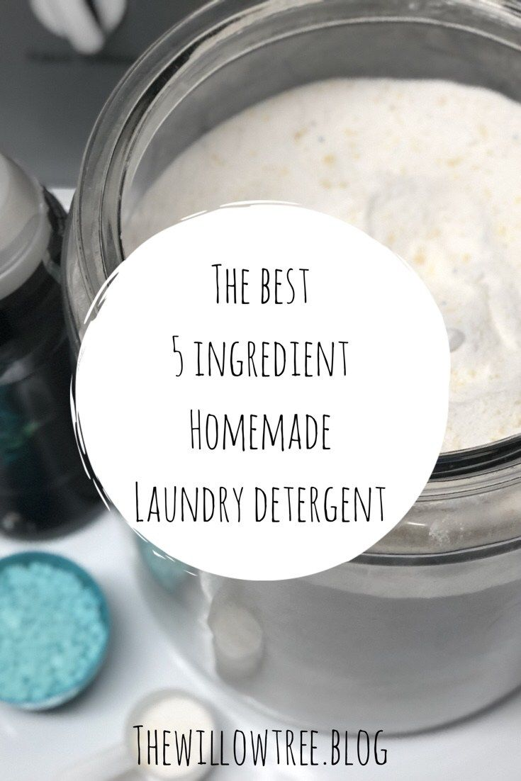 The Best Homemade Laundry Detergent Homemade Laundry Homemade