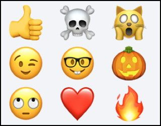 Wonder whether the emoji you use in your Facebook posts and SMS text messages are unique or popular? Find out with these lists of most popular emoji...