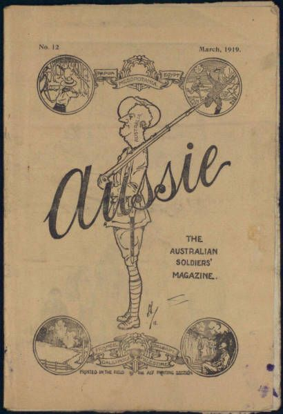 Aussie, The Australian Soldier's Magazine. Read the archive for free, just click on the image.