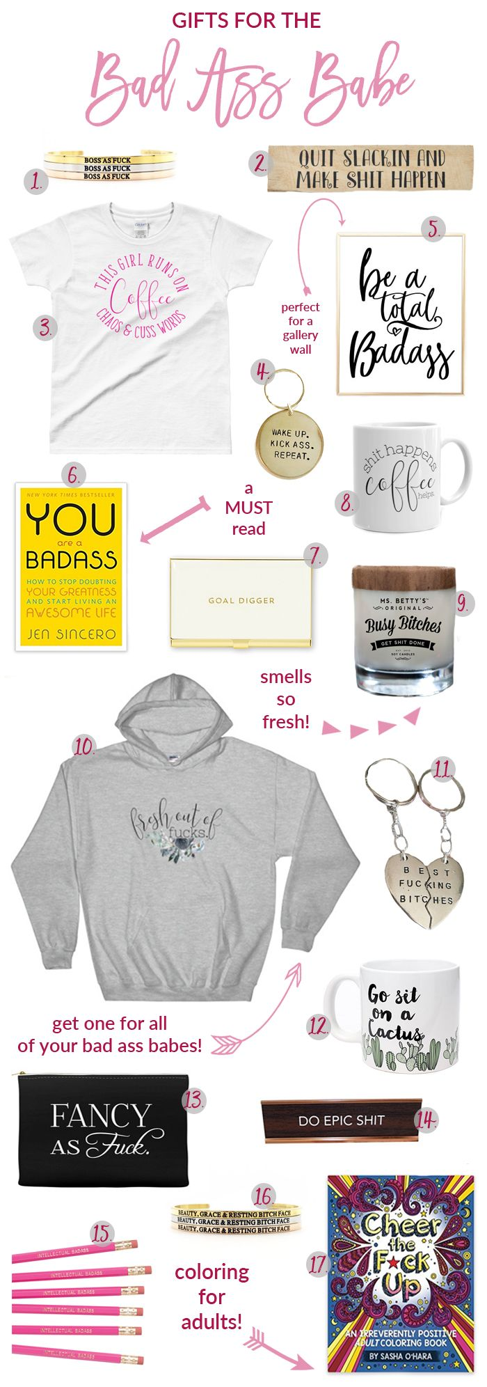 Badass Christmas Gifts Part - 23: The Bad Ass Babes Gift Guide