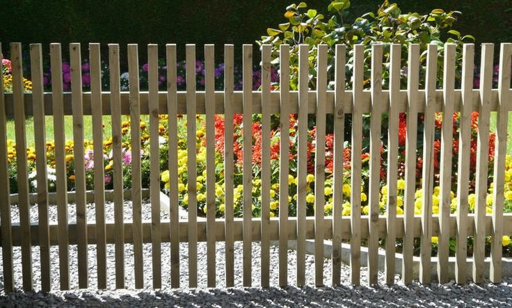 eenvoudige tuinhek