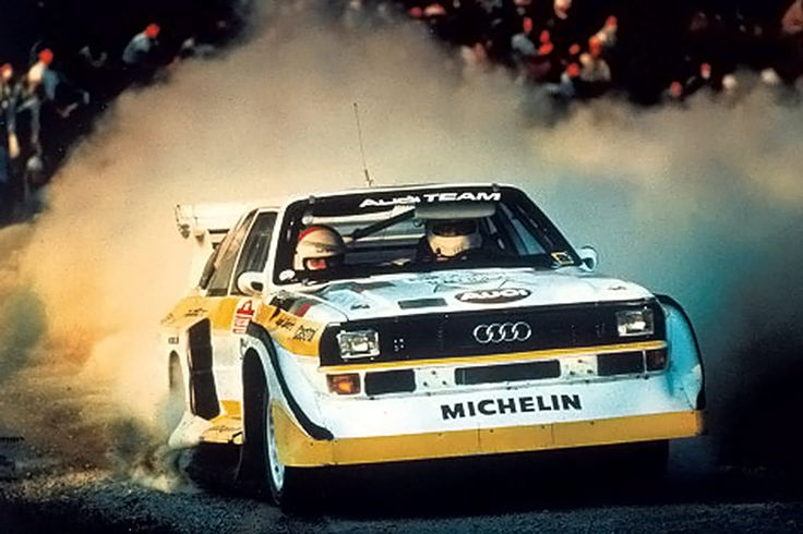 THE GROUP B CARS - THE LEGENDS with Walter Röhrl in Audi Urquattro S1 This is a tribute to the rallying of the middle 80's, when Group B monsters dominated t...