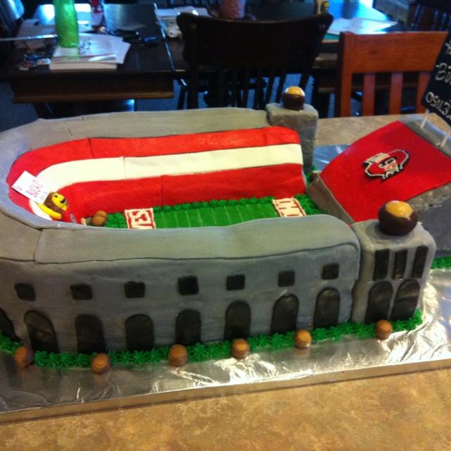 OSU stadium cake
