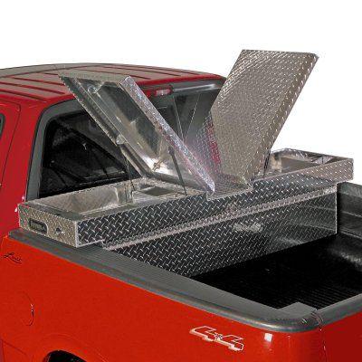 Buyers Aluminum Gull-Wing Cross Truck Tool Box Full Size - 1710305