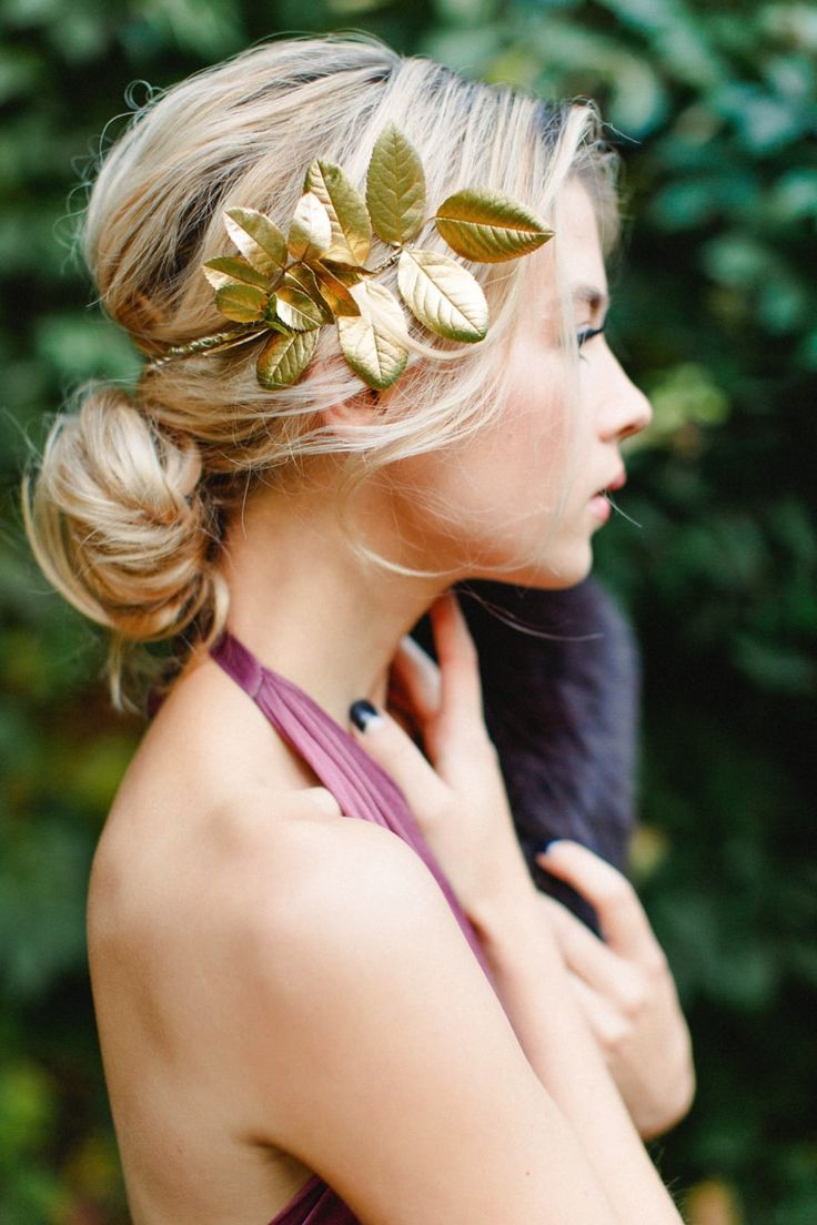 Trendy bridal headpiece - Autumn Styled Shoot From Russia Trendy Bride Magazine