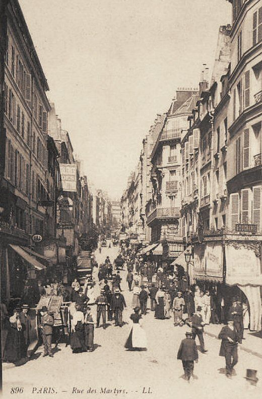 17 best ideas about paris 1900 on pinterest vieux paris for Le miroir rue des martyrs