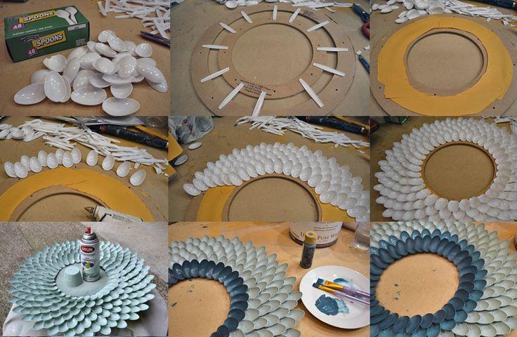Como hacer marcos para fotos de carton buscar con google for Decoracion artesanal para el hogar