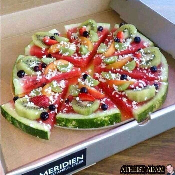 Fruit pizz