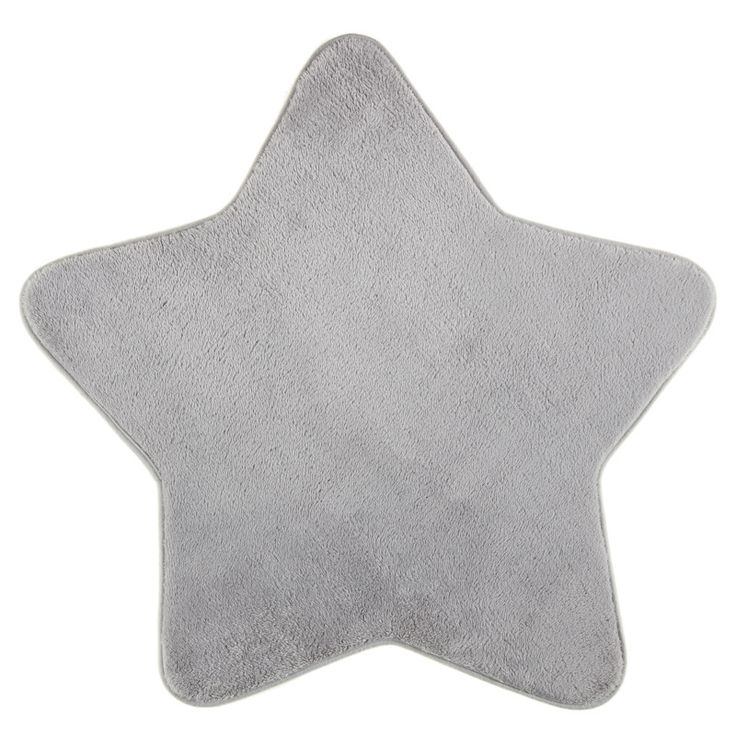 Complete baby's nursery with this gorgeously soft, star shaped rug - Pink, Blue or Grey colours complement lots of different nursery themes