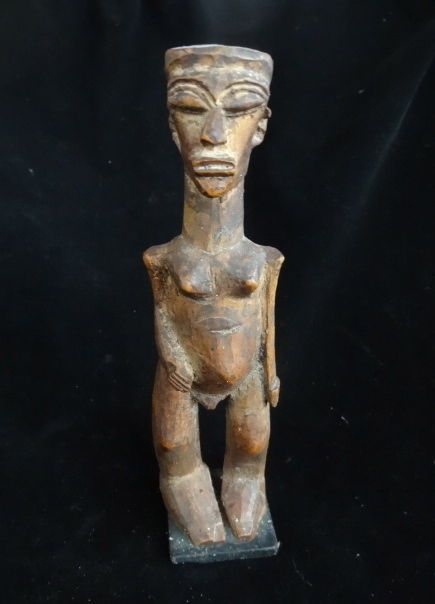 Lobi Wood Statue Colonial Africa Ethnographic Tribal Collectable  #africanmaster