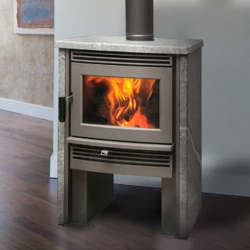 The Neostone 1.6 Pacific Energy | Soapstone Wood Stove, is the efficient Neo 1.6 engine stylishly encased in natural soapstone.  This soapstone stove, cuts emissions while optimizing fuel efficiency and burn time.