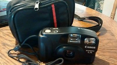 Vintage Canon Snappy LX/Prima BF 35mm Compact Camera With Case