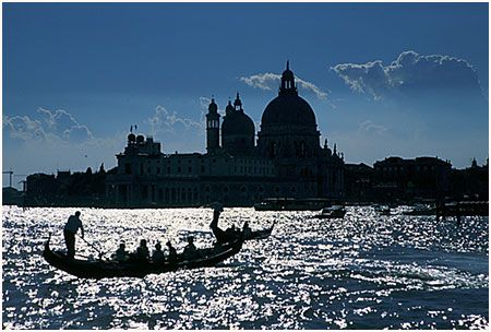 Awesome, suggestive view of the #Venice lagoon
