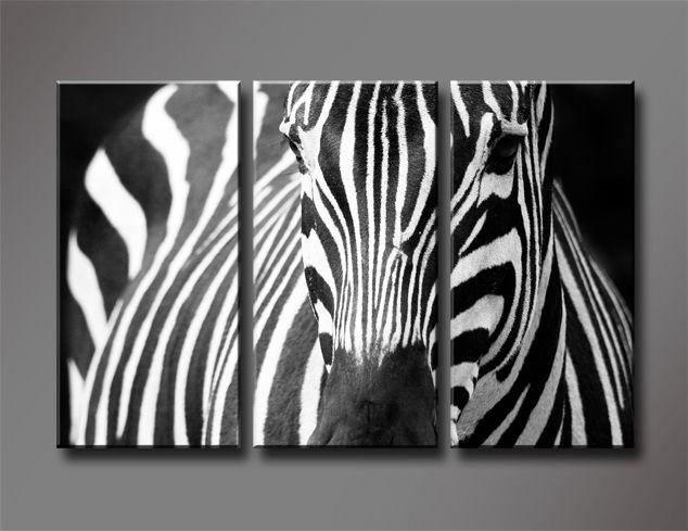 Cheap Cebra blanco y negro, 3 paneles / Set HD impresión de la lona de la pintura, arte de la pared de regalo para sala de estar, venta al por mayor W702, Compro Calidad Pintura y Caligrafía directamente de los surtidores de China:                 Marco:              Unstretched, sin marco, no está listo para colgar, rodada en tubo protec
