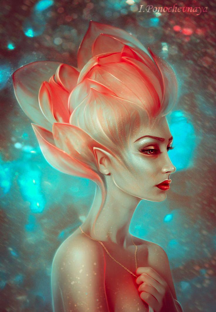 little lily by Irina-Ponochevnaya on DeviantArt