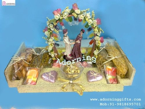 17 best wedding trays and decor images on pinterest gifts for trousseau packing indian wedding decorationsindian junglespirit Images