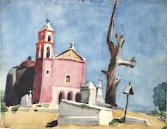 Yucatán — Works on Paper:Mexico:Washes & Gouaches — JC Jean Charlot
