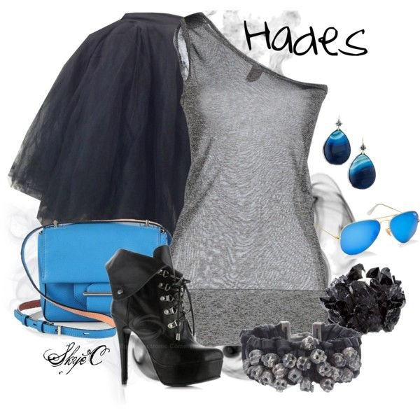 """Hades - Disney's Hercules"" by rubytyra on Polyvore"