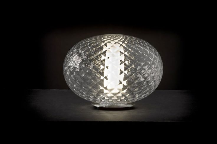 Check-out our extraordinary selection of lamps with decorated lamp shades | Recuerdo lamp, Mariana Pellegrino Soto, Oluce, 2017