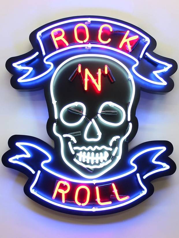 Rock 'n' Roll: artwork by Chris Bracey - The Independent