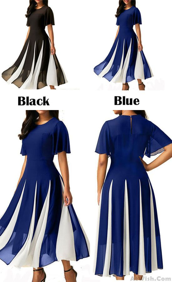 102c46b65a21 Sexy Chiffon Joint Neck Perspective Lightweight Women s Prom Dress  dress   Party  prom