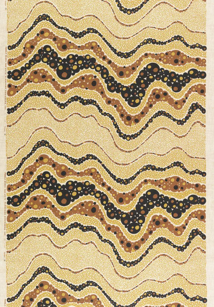 Design is fine. History is mine. — Eleanor & Henry Kluck, Elenhank Designers, Textile...
