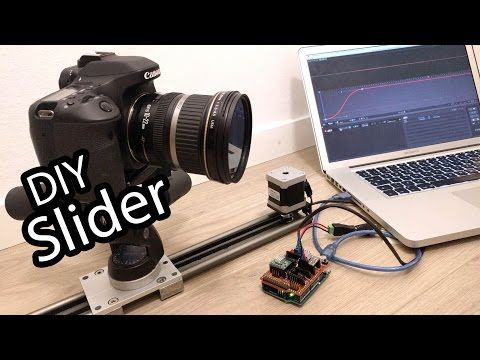 Build an advanced DIY motion control slider for timelapse and stop motion animation - DIY Photography