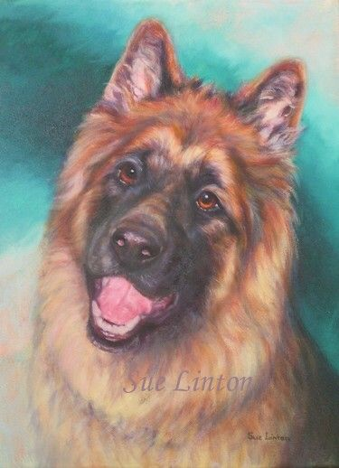 Kiara an oil portrait created as a gift