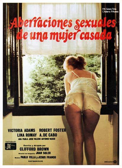 """Aberraciones sexuales de una mujer casada (1981) """"Aberraciones sexuales de una mujer casada"""" de Jesús Franco - tt0081973"""