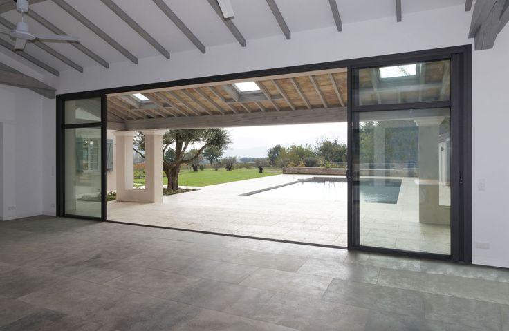 Envie de cette belle réalisation ? Consultez-nous www.dupre-renovation.fr !!! Fenêtres PVC, alu, ouverture maison, galandage, baie vitrée,