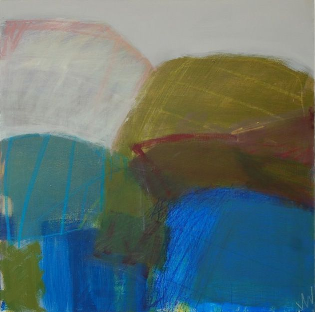 Blue green boundary by Julia Wilson