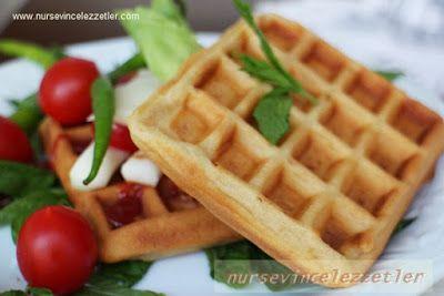 Tuzlu Waffle Nasil Yapilir | Yemek Tarifleri