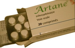 Artane (Trihexyphenidyl) is used to treat the stiffness, tremors, spasms, and poor muscle control of Parkinson's disease. It is also used to treat and prevent the same muscular conditions. Artane alters unusual nerve impulses and relaxes stiff muscles.