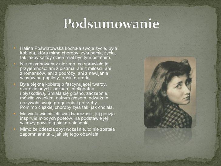 Картинки по запросу Halina Poświatowska