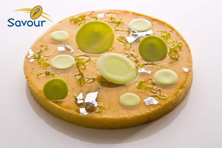 A very light tart from our kitchens @Kate Wheeler (Savour Fare) School #tarts