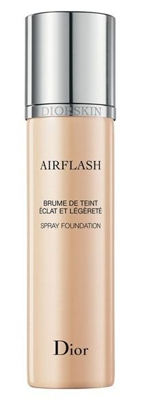 For the girl who doesn't like foundation! Diorskin Airflash Spray Foundation, a go-to solution for professional makeup artists, brings an airbrushed effect to your makeup routine. Its lightweight, silky formula gives you a flawless, velvety, super-smooth and even finish that feels like a second skin. A must try!