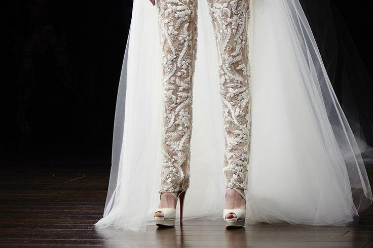 News - Christian Louboutin Online - Bells Are Ringing: Christian Louboutin at Bridal Fashion Week