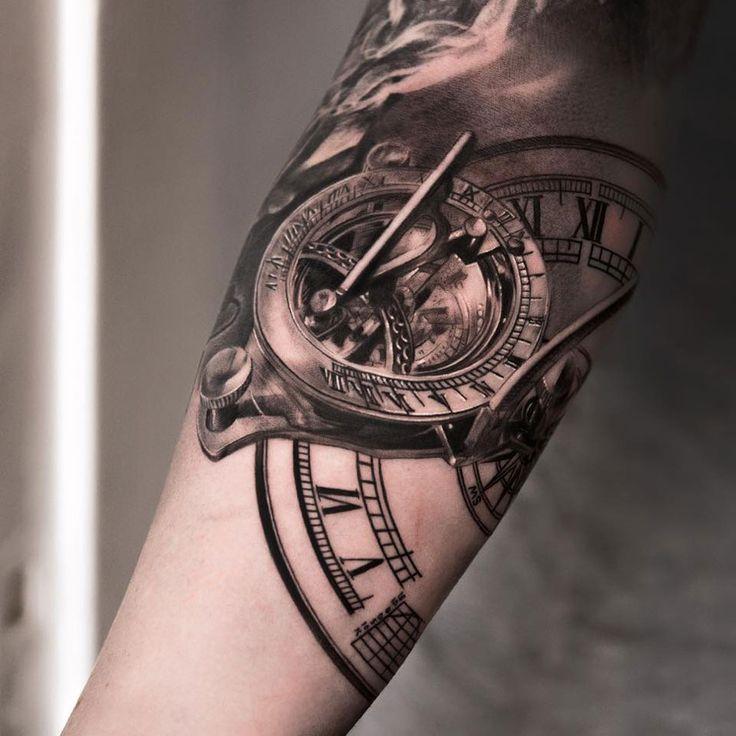 Tatuagem Realista | Relógio