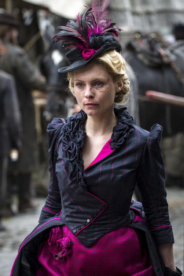 Long Susan / Susan Hart / Caitlin Swift - MyAnna Buring in Ripper Street, set in the 1880s and 1890s (TV series).