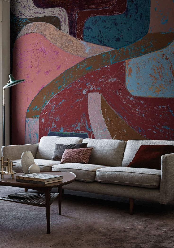 Mediterranean marks Wallpaperdesigned by Talva Design fortheContemporaryCollection 2017 © Wall&decò.