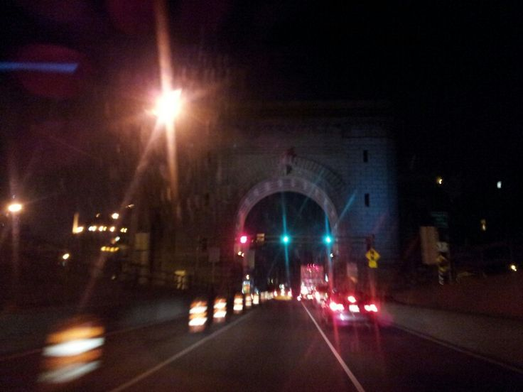 Departing NYC....late night driving