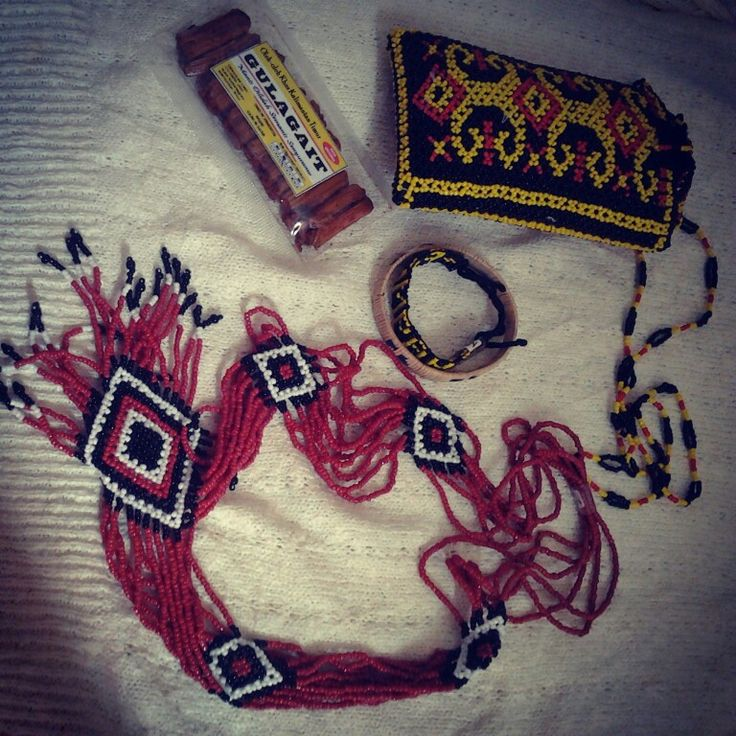 Accessories from Kalimantan, Indonesia