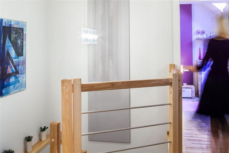 Dom w kolorze lawendy - zobacz więcej na www.amarantowestudio.pl