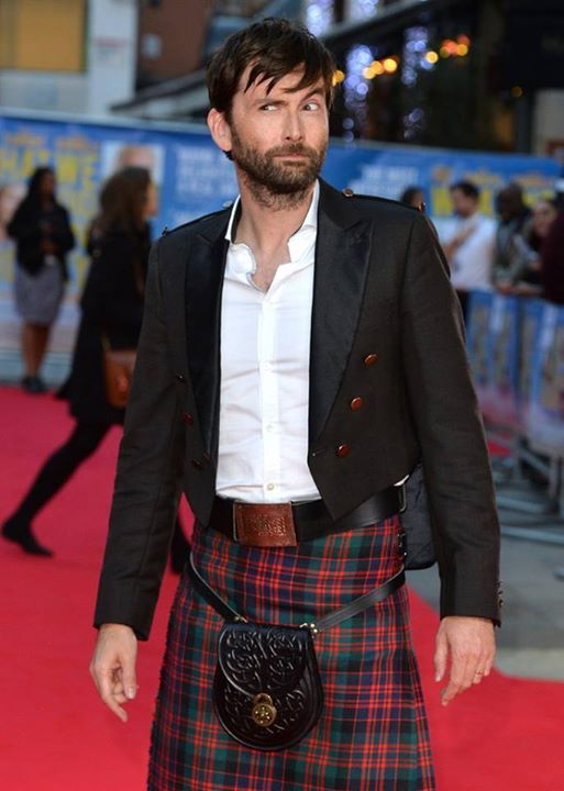 PHOTO OF THE DAY - 8th November 2015:   David Tennant at the UK premiere of What We Did On Our Holiday (2014)
