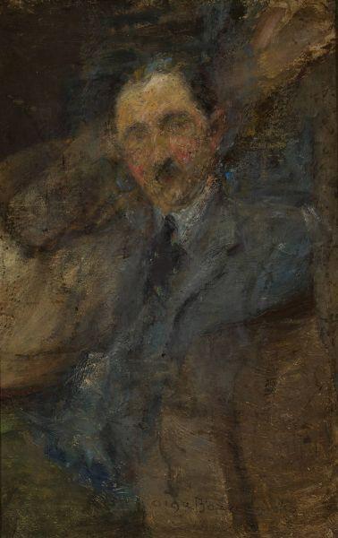 Portret prof Jerzego Sienkiewicza - Olga Boznańska