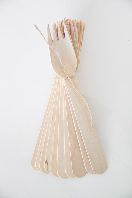 Wooden Forks - Teelee - A Bits & Bobs Brand