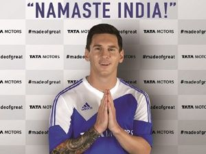 Lionel Messi signed as global brand ambassador of Tata Motors