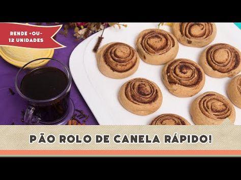 Rolo de Canela Rápido (Cinnamon Roll)